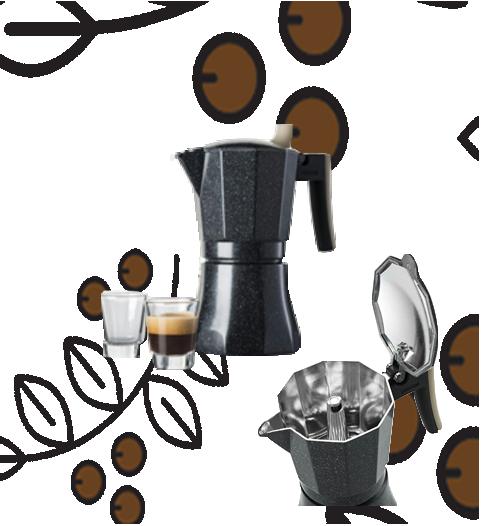 Cafetera Moka POT